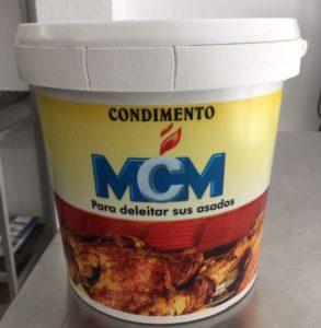 Condimento para pollos asados